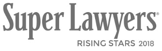 2018 list of Rising Stars from Super Lawyers