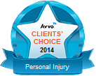 ARVO Clients Choice award for Personal injury Law in Appleton